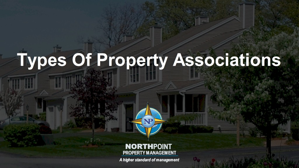 Types Of Property Associations